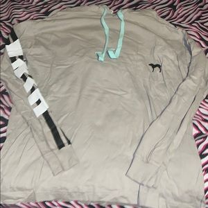 Victoria secret light hoodie